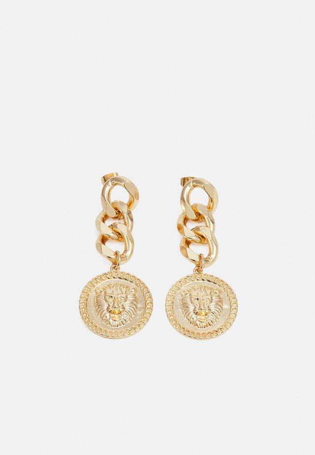 PCPANSY EARRINGS - Boucles d'oreilles - gold-coloured