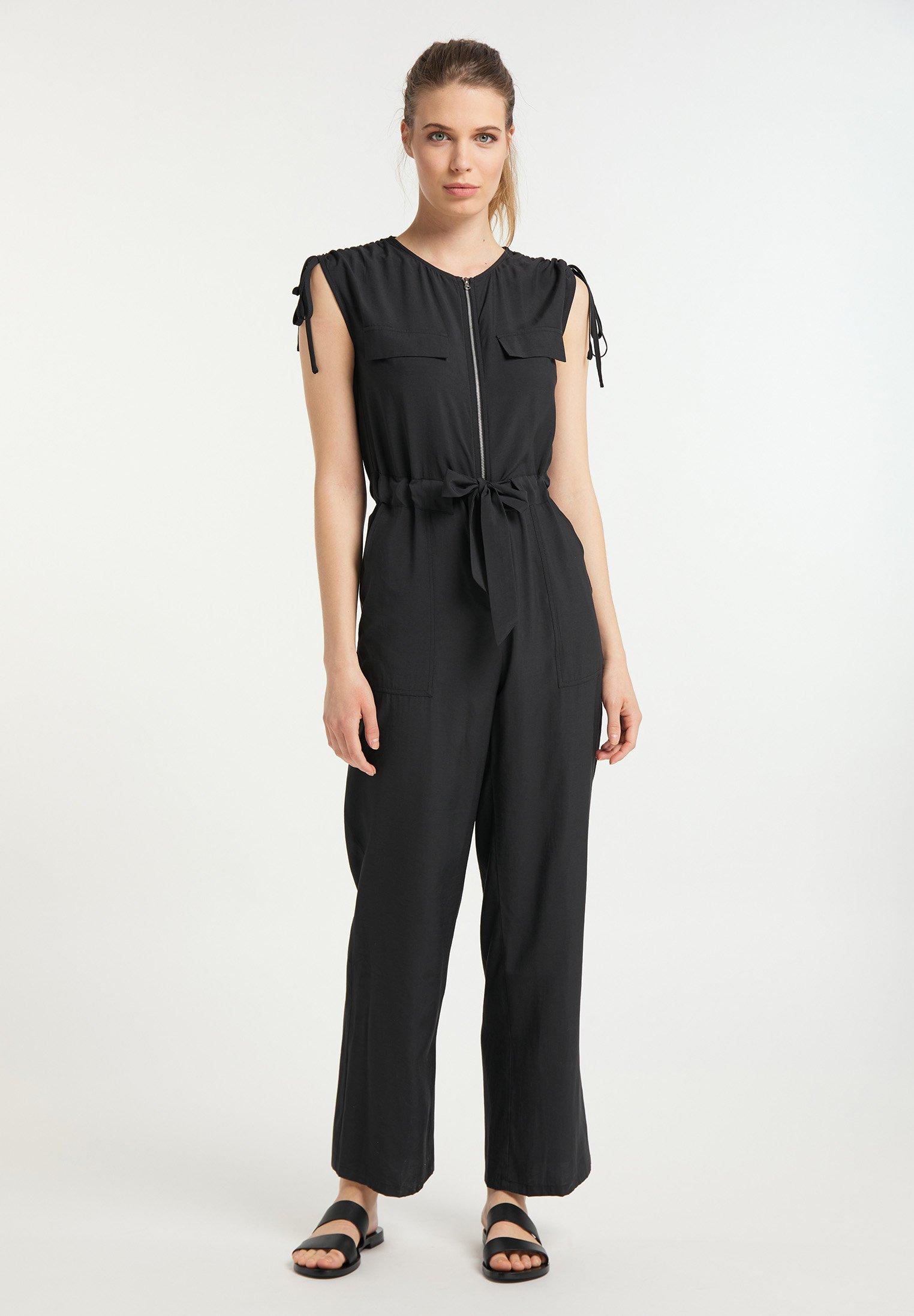 Super Women's Clothing usha Jumpsuit schwarz KWdzmlb3E