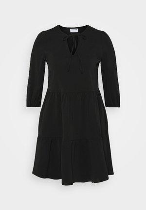 NMLIVE SHORT DRESS  - Freizeitkleid - black