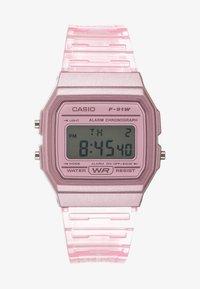 Casio - F-91WS-4EF - Digitální hodinky - rosa - 0