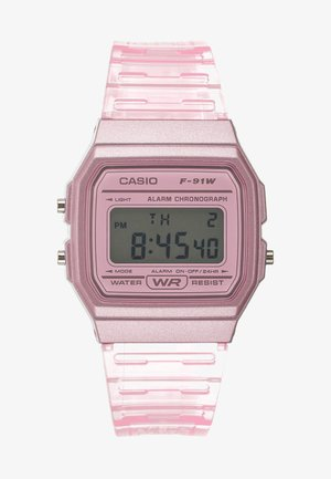 F-91WS-4EF - Digital watch - rosa