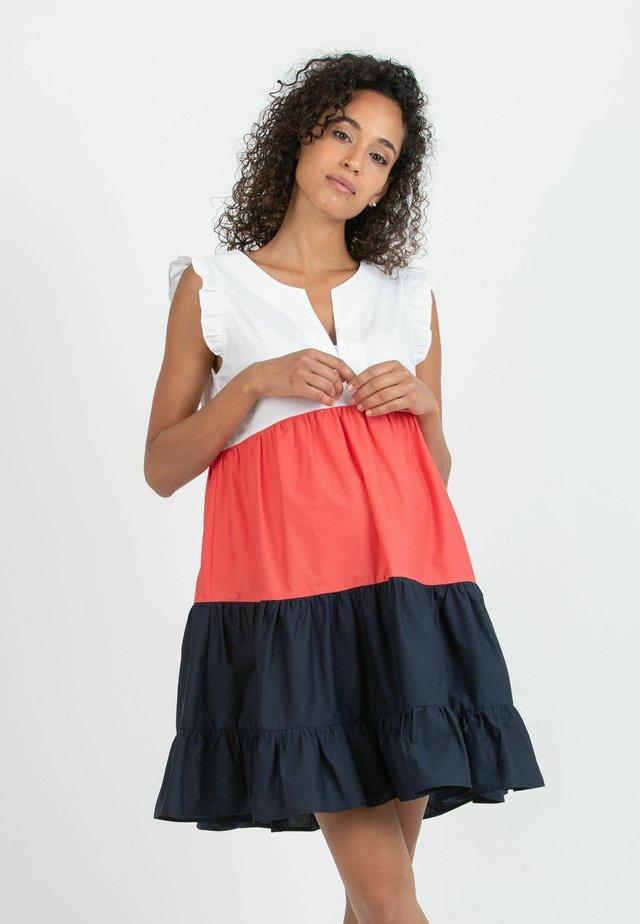 CHIARA - Korte jurk - blue