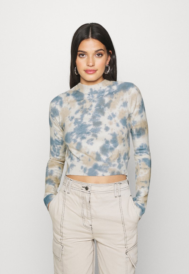 BDG Urban Outfitters - TIE DYE - Jumper - ivory