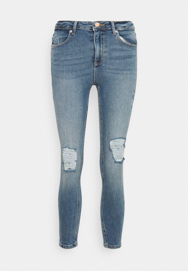 LIZZIE SKY - Skinny džíny - blue