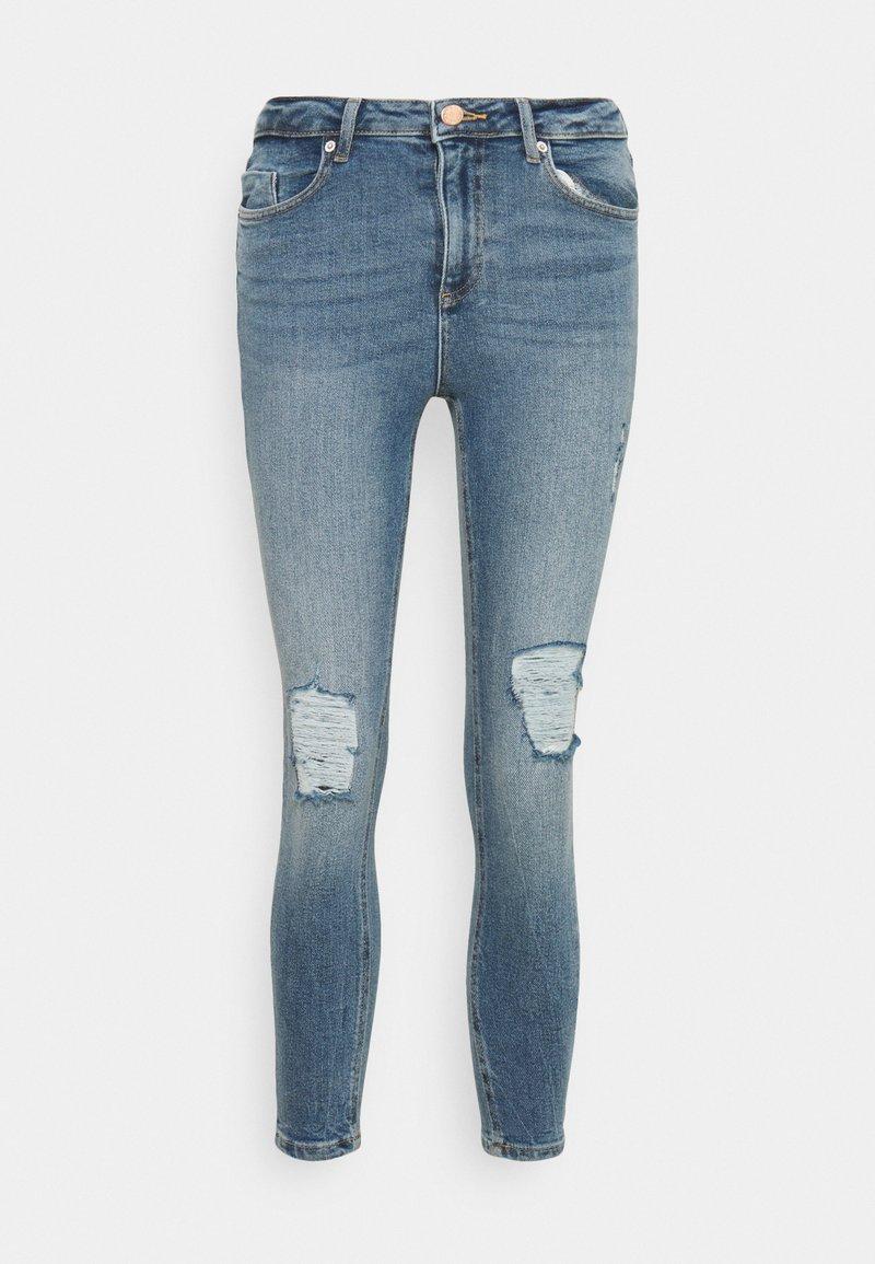 Miss Selfridge Petite - LIZZIE SKY - Skinny džíny - blue