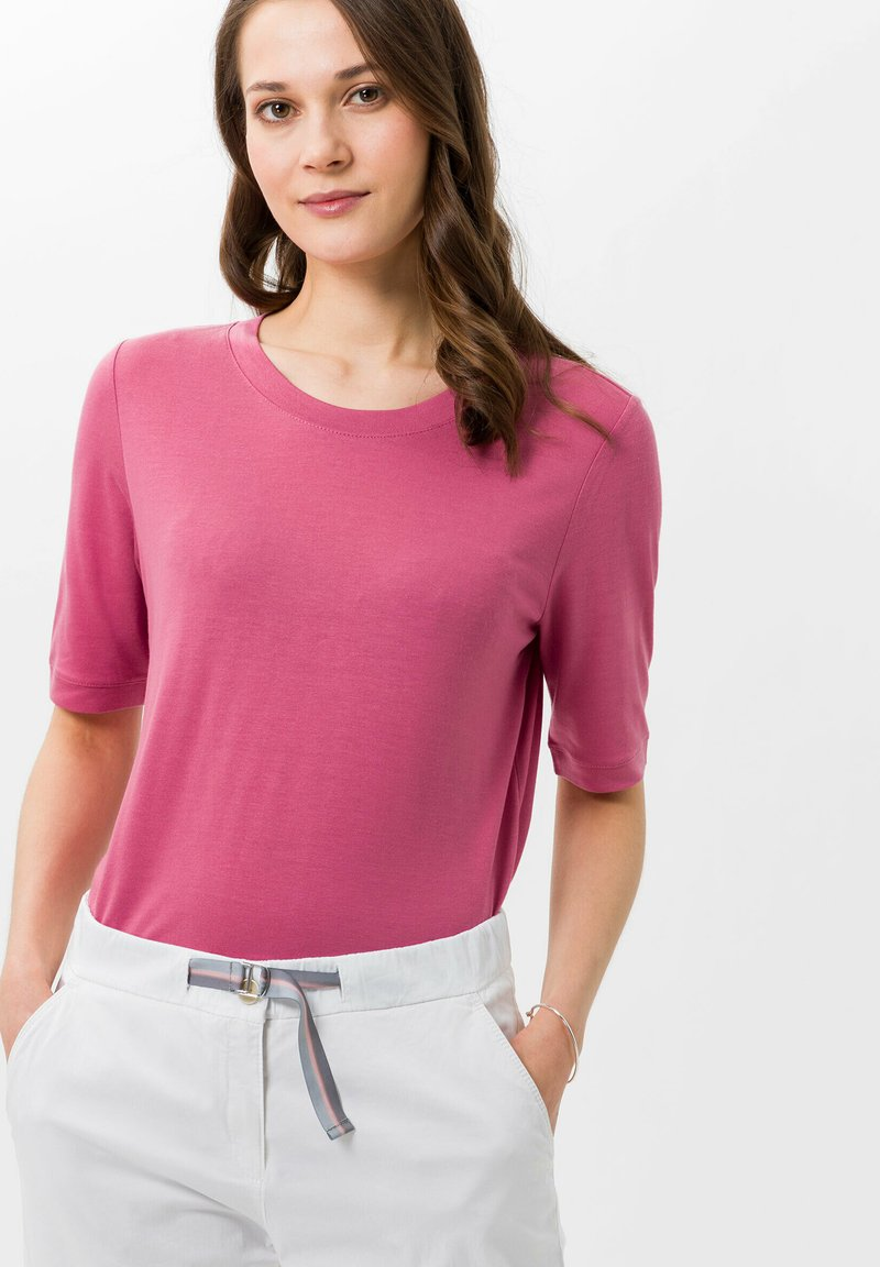 BRAX - STYLE COLETTE - Basic T-shirt - magnolia