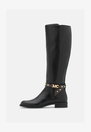 FARRAH BOOT - Vysoká obuv - black/brown