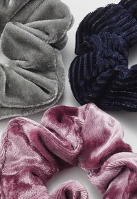 Abercrombie & Fitch - 3 PACK - Hair styling accessory - pink/black/grey - 2