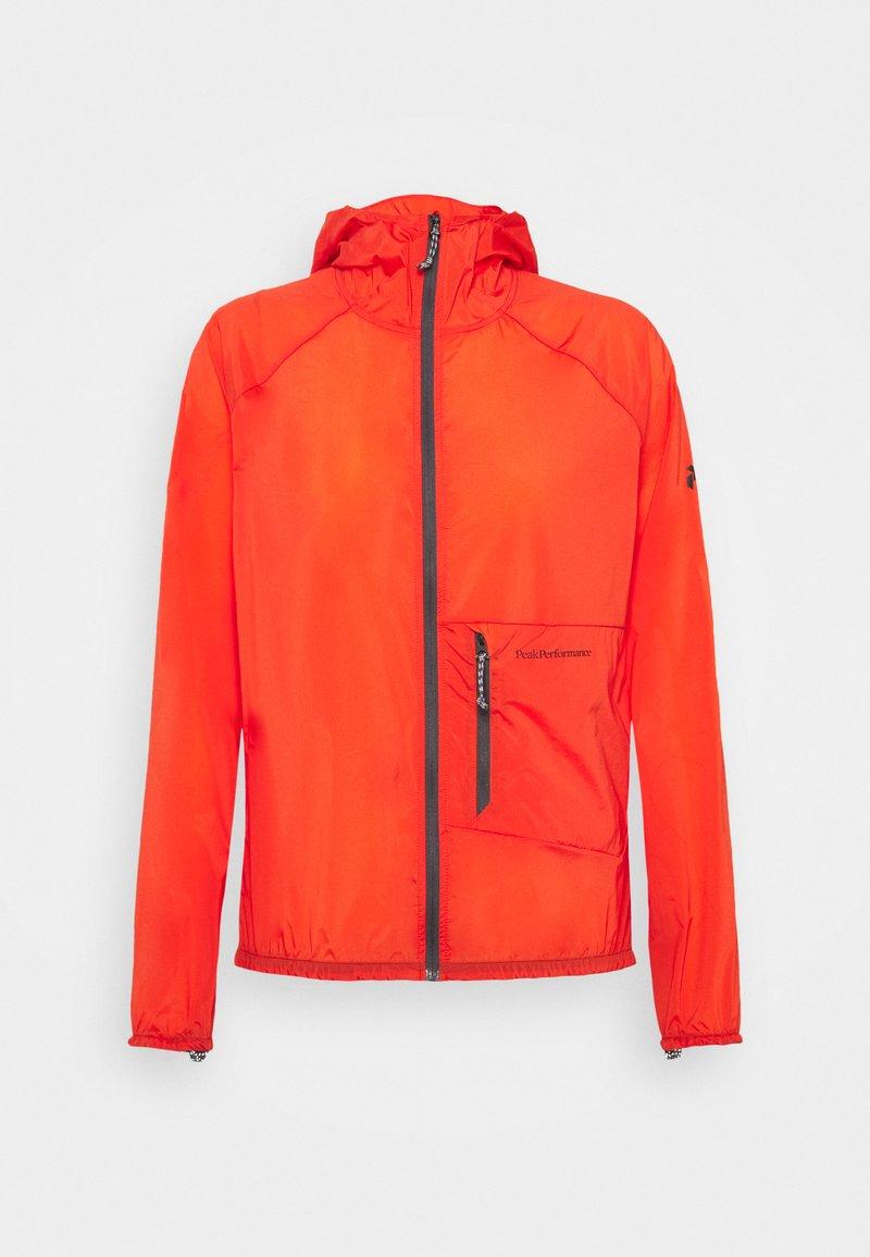 Peak Performance - VISLIGHT WINDJACKET - Outdoor jacket - super nova