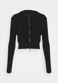 BDG Urban Outfitters - CROPPED ZIP HOODIE - Zip-up hoodie - black - 5