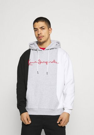ORIGINALS BLOCK HOODIE - Mikina - ash grey