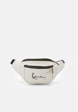 SIGNATURE WAIST BAG UNISEX - Bum bag - offwhite