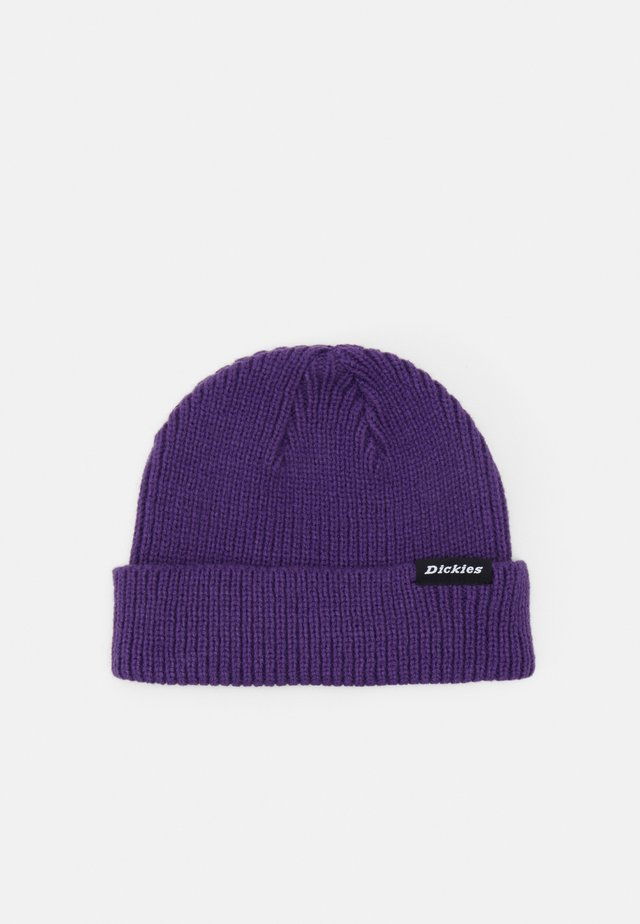 WOODWORTH UNISEX - Beanie - deep purple