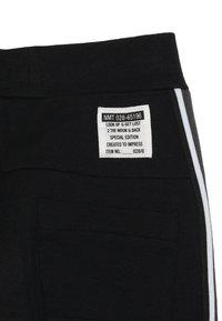 Name it - NKMHONK PANT TAPE - Tracksuit bottoms - black - 3