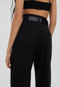 PULL&BEAR - Kalhoty - black - 5
