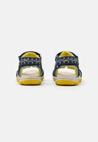 Friboo - LEATHER - Walking sandals - dark blue - 2