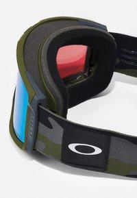 Oakley - LINE MINER - Ski goggles - green - 4
