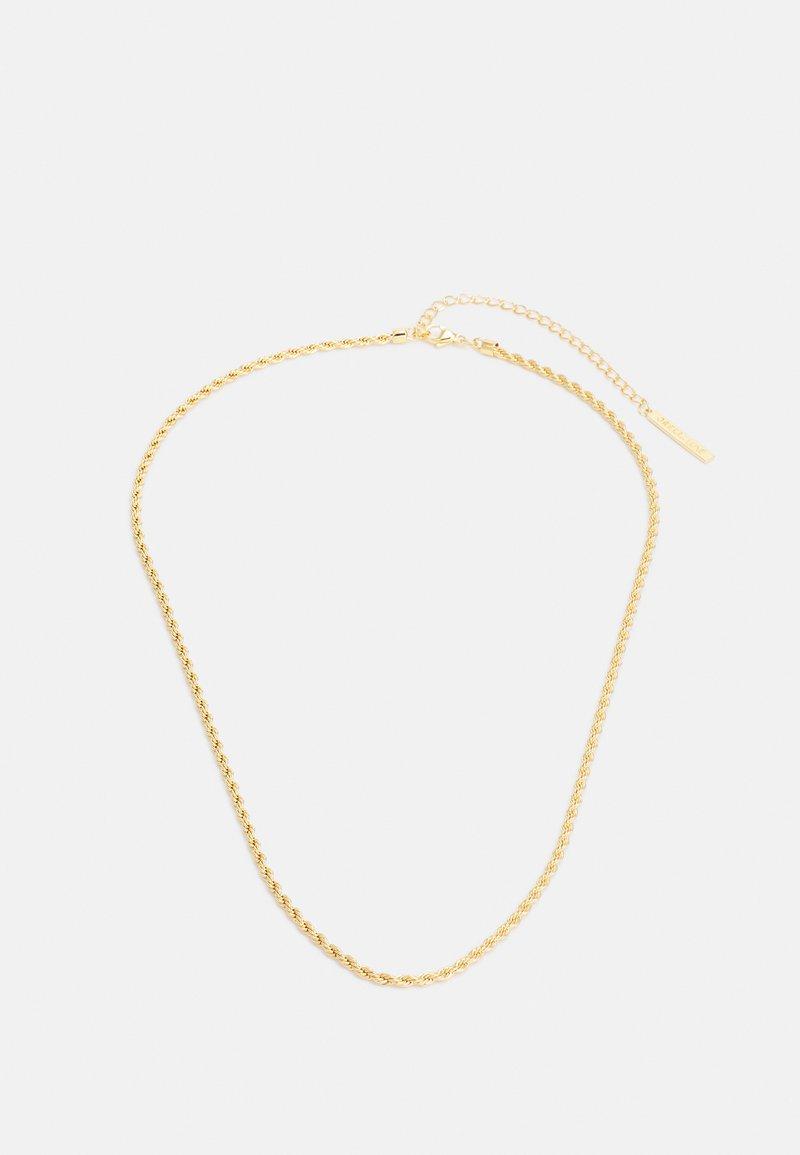 Orelia - LUXE ROPE CHAIN - Halskæder - pale gold-coloured