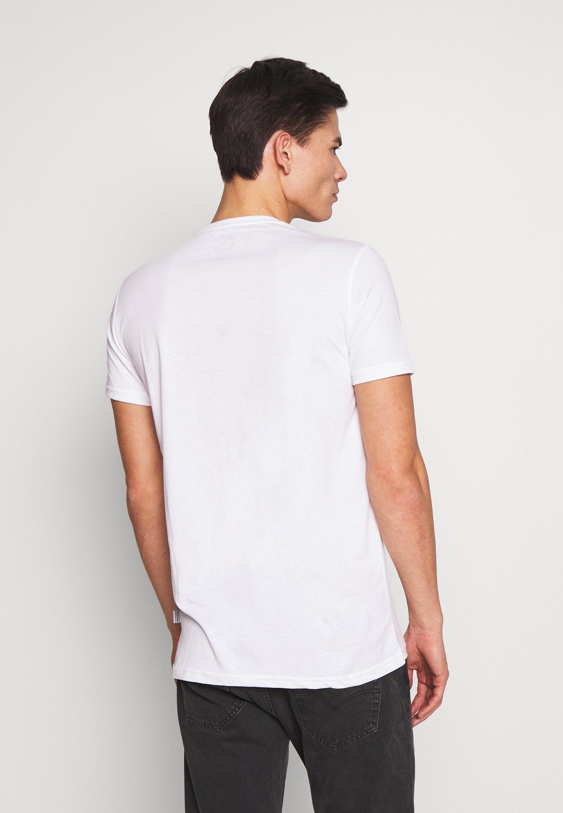 Kronstadt TIMMI TEE - Basic T-shirt - white VJ2Y3