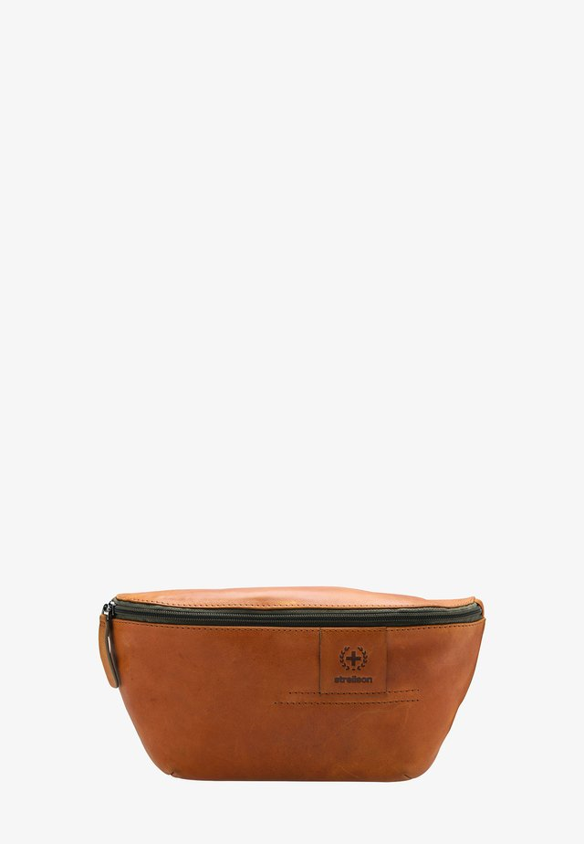 HYDE PARK  - Bum bag - cognac