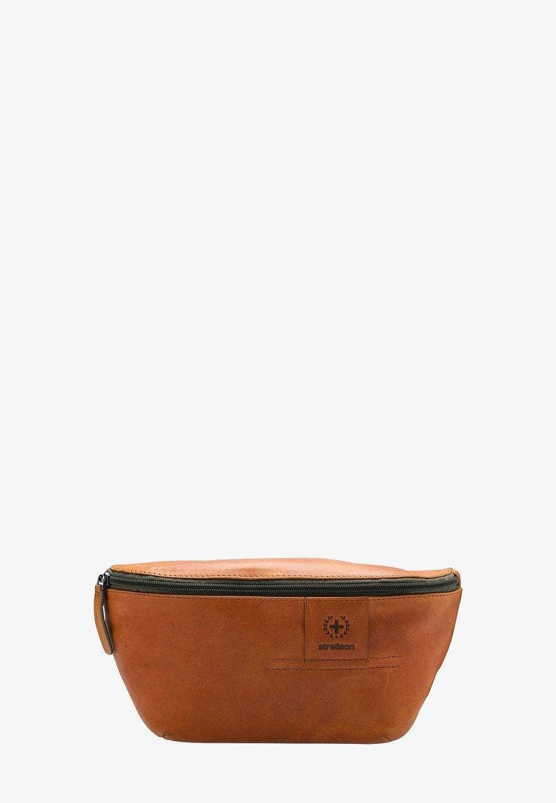 Strellson Premium - HYDE PARK  - Bum bag - cognac