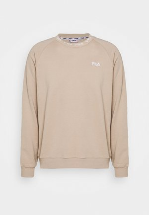 FLURIN CREW SWEAT - Sweatshirt - oxford tan