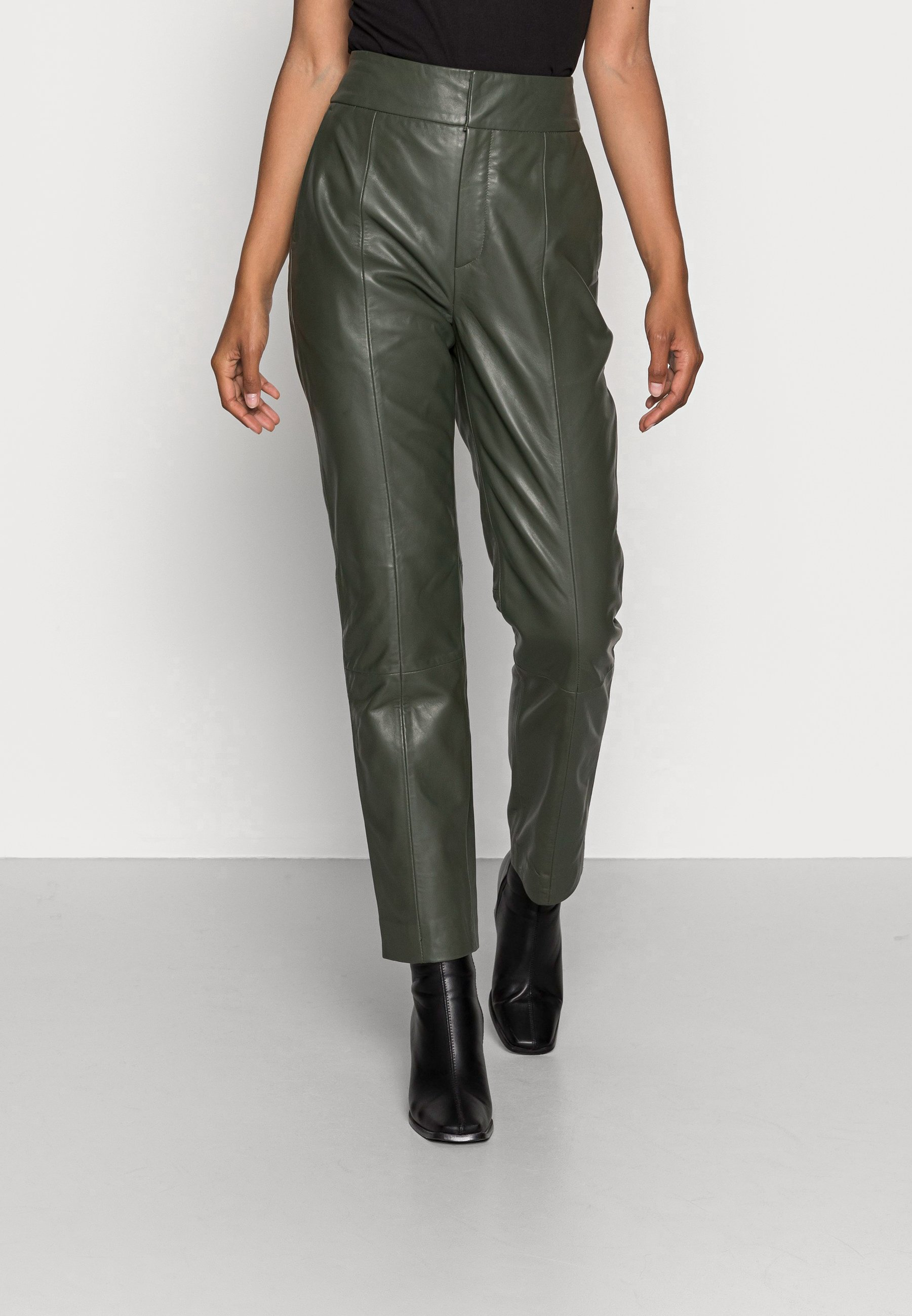 Women CADIX PANT - Leather trousers