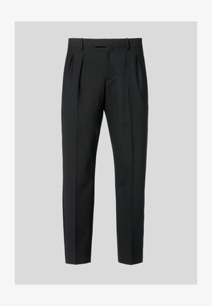 TAILORED  - Trousers - black