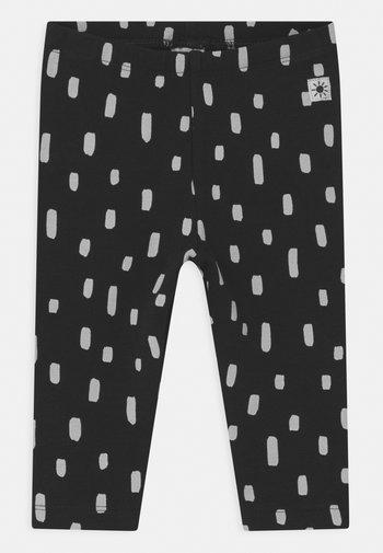 DOTS - Leggings - Trousers - black