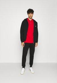 Benetton - ZIP HOODIE CREW NECK - Zip-up hoodie - black - 1