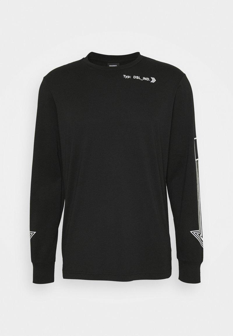 Diesel - MAGLIETTA UNISEX - Camiseta de manga larga - black