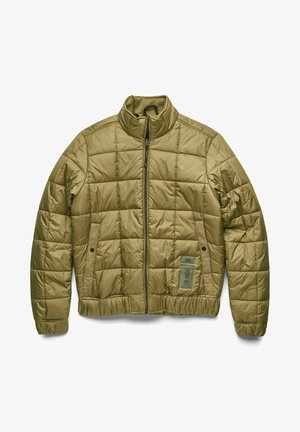 MEEFIC SQUARE QUILTED - Down jacket - light antic green