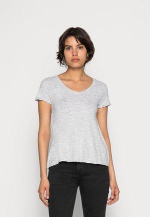 JACKSONVILLE V NECK TEE - T-shirts basic - grey