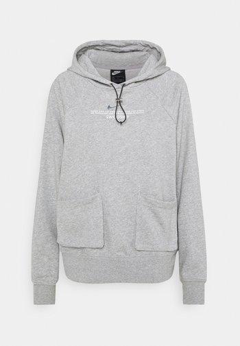 HOODIE - Sweatshirt - dark grey heather/white