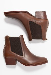 H by Hudson - AVERY - Ankle boots - brown - 3