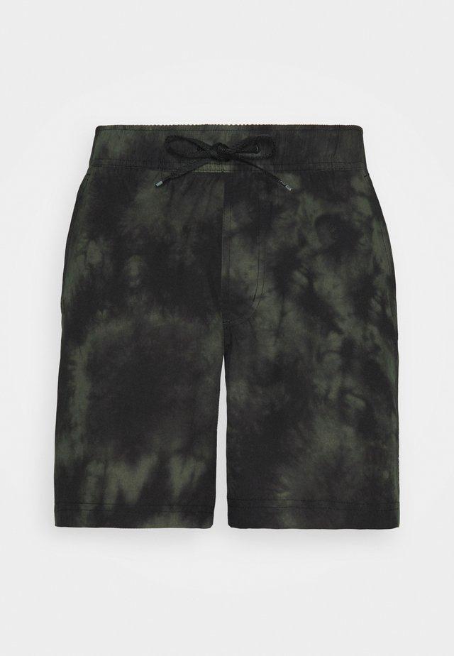 ESSEX DOWN N DIRTY SHORT - Pantalón corto de deporte - olive green