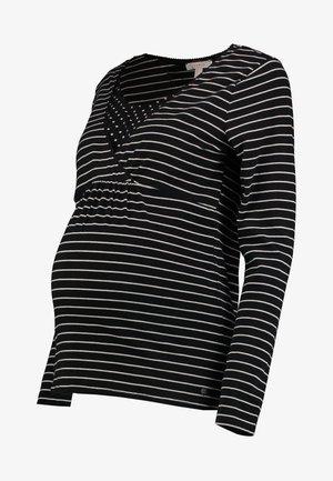 NURSING - T-shirt à manches longues - black