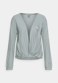 Puma - PAMELA REIF X PUMA COLLECTION OVERLAY CREW - Langarmshirt - quarry