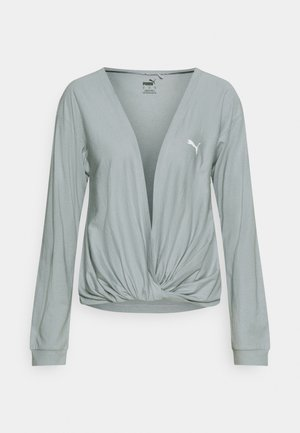 PAMELA REIF X PUMA COLLECTION OVERLAY CREW - Topper langermet - quarry