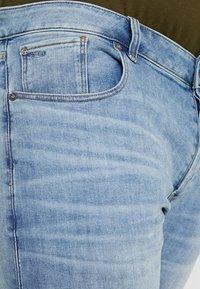 G-Star - 3301 SLIM - Slim fit jeans - light indigo aged - 3