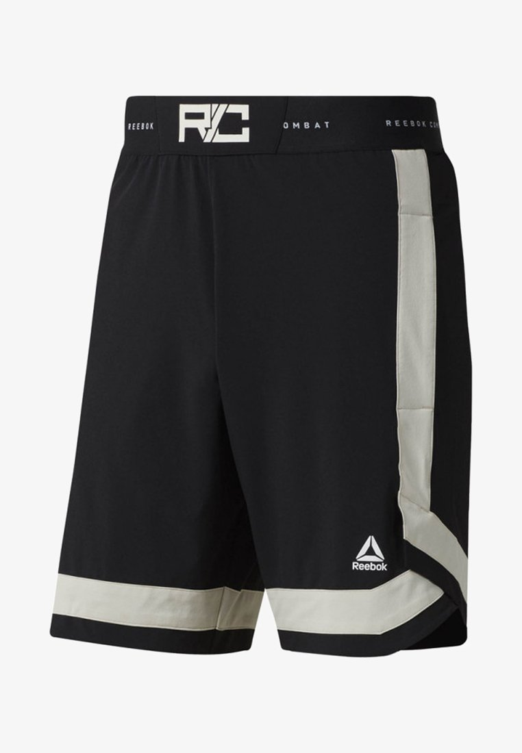 Reebok - COMBAT BOXING SHORTS - Sports shorts - black