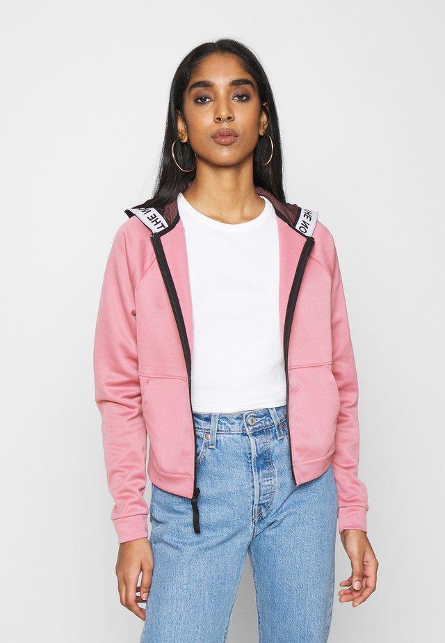 W TNL FZ - EU - Zip-up hoodie - mesa rose
