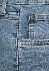 Cotton On Curve - HIGH WAISTED - Denim shorts - brunswick blue - 6