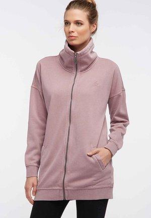 Zip-up hoodie - rose