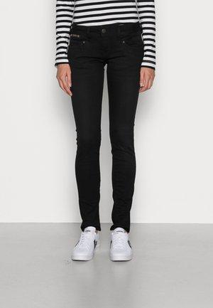 PIPER SLIM DENIM BLACK STRETCH - Slim fit jeans - tempest