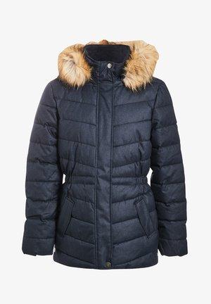 MIT KAPUZE - Winter jacket - bleu marine