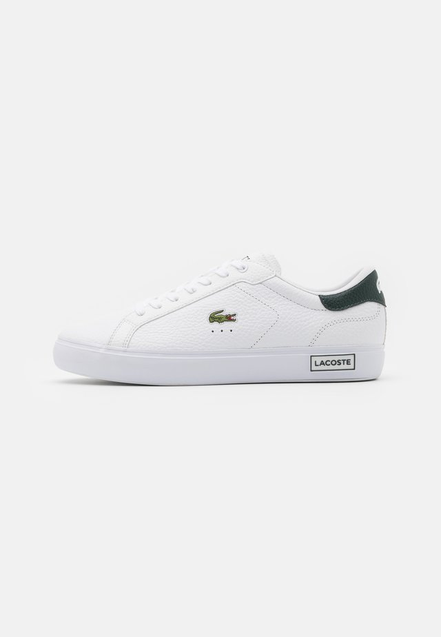 POWERCOURT - Trainers - white/dark green