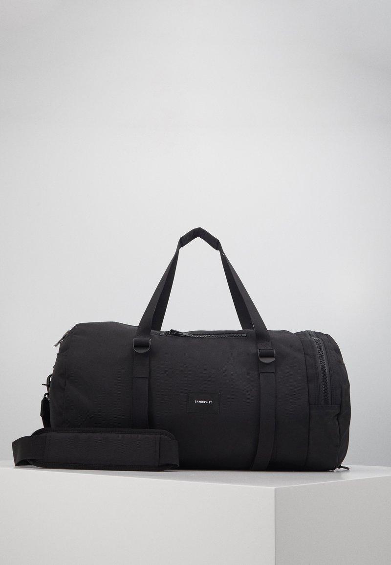 Sandqvist - HANNES - Sports bag - black
