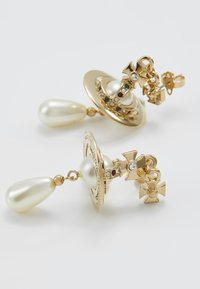 Vivienne Westwood - PEARL DROP EARRINGS - Earrings - rhodium - 5