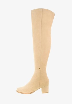 RAVARINO - Over-the-knee boots - beżowy